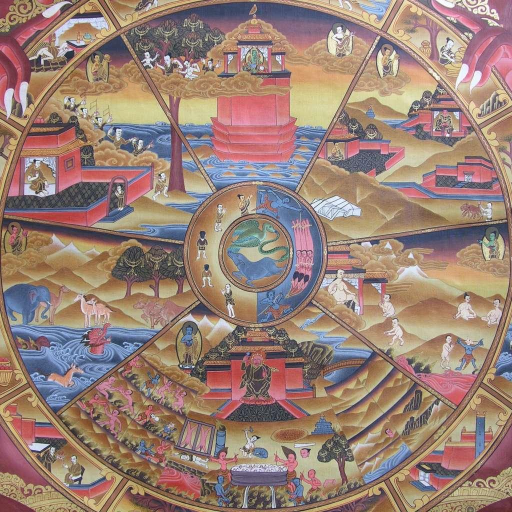 Buddhism: 40 Oz Of Bad Karma